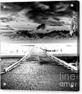 Gangplank Of Perfection Infrared Extreme Acrylic Print