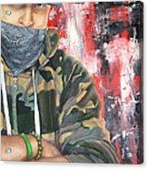 Gangster Emotions Acrylic Print