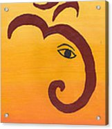 Ganpati- Om Acrylic Print