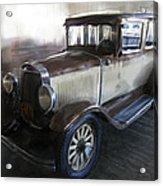 Gansgter Era Automobile Acrylic Print