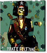 Gasparilla Pirate Fest 2015 Full Work Acrylic Print
