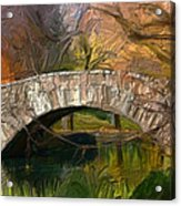 Gapstow Bridge In Central Park Acrylic Print