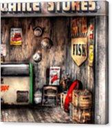 Garage - Advance Stores  Acrylic Print