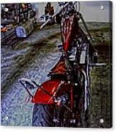 Garage Kept Chopper Acrylic Print