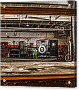 Garage Window Acrylic Print