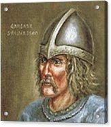 Gardar Svavarsson Acrylic Print