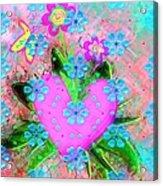 Garden Art - Abstract  Acrylic Print