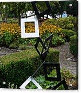 Garden Art Acrylic Print by Ella Char