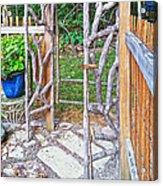 Garden At Cheryl's Acrylic Print