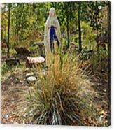 Garden At Mother Cabrini Acrylic Print
