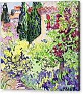 Garden At Vaison Acrylic Print