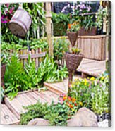 Garden Beautiful Acrylic Print by Boon Mee