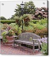 Garden Benches 6 Acrylic Print