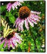 Garden Butterfly Acrylic Print