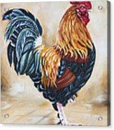 Garden Center's Rooster Acrylic Print