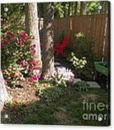 Garden Cleanup Acrylic Print