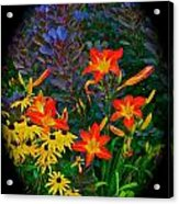 Garden Color Delight Acrylic Print