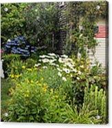 Garden Cottage Acrylic Print by Bill Wakeley