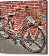 Garden Cruiser Acrylic Print