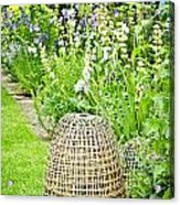 Garden Decoration Acrylic Print
