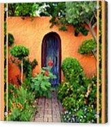 Garden Delights Mesilla Acrylic Print