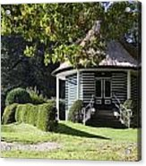 Garden Dome House In City Park Boschveld Arnhem Netherlands Acrylic Print