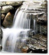 Garden Falls Acrylic Print