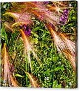 Garden Flair Acrylic Print