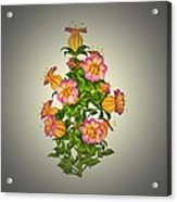 Garden Flowers 6 Acrylic Print