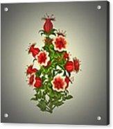 Garden Flowers 8 Acrylic Print