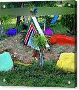 Garden Galaxy Acrylic Print