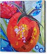 Garden Harvest Collage Detail Acrylic Print