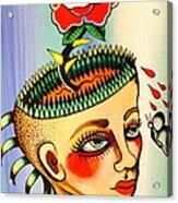 Garden Head Acrylic Print