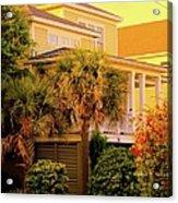 Garden Light At Isle Of Palms Acrylic Print