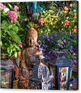 Garden Meditation Acrylic Print