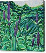 Garden Mint Acrylic Print