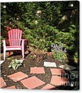 Garden Of One Acrylic Print