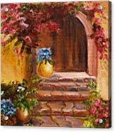 Garden Of Serenity Acrylic Print