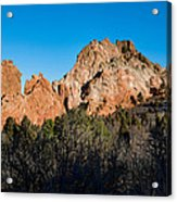 Garden Of The Gods Formation Acrylic Print