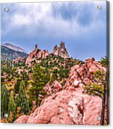 Garden Of The Gods Acrylic Print by Sergio Aguayo