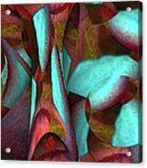 Garden Of Trees Acrylic Print