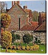 Garden Of Winchester Acrylic Print
