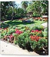 Garden Park Acrylic Print