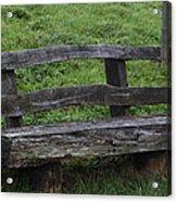Garden Park Bench Acrylic Print