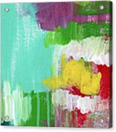 Garden Path- Abstract Expressionist Art Acrylic Print