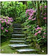 Garden Pathway Acrylic Print