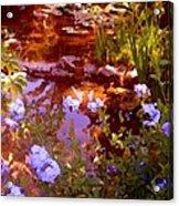 Garden Pond Acrylic Print