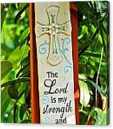 Garden Prayer Acrylic Print