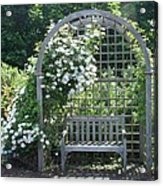 Garden Respite Acrylic Print