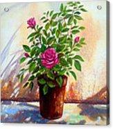 Garden Roses Acrylic Print